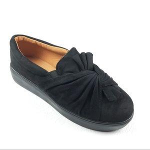 CATHERINE MALANDRINO Drapie Platform Sneakers 7.5